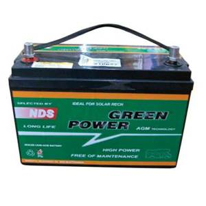 BATTERIE GREEN POWER AGM GP100