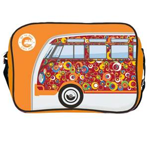 BESACE SAC BANDOUILLERE VW COLLECTION COLORIS ORANGE/Bubble Design