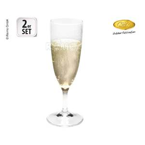 LOT DE 2 FLUTES A CHAMPAGNE ESTELLA - 16cl
