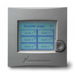 PANNEAU GESTION BATTERIE MASTERVOLT MASTERVIEW EASY PANEL