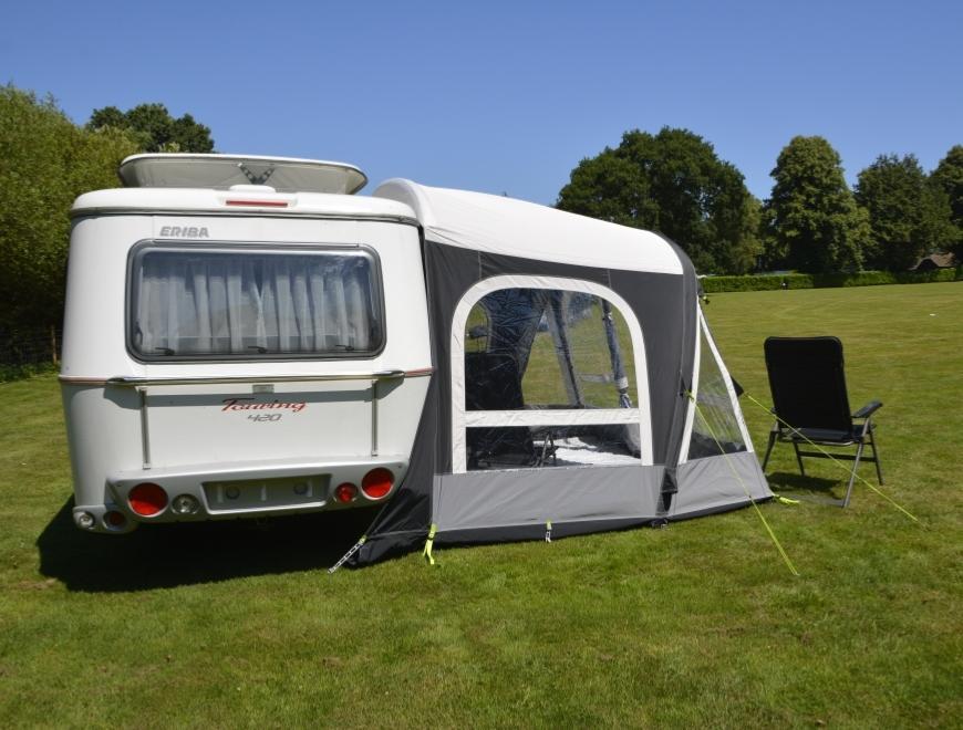 auvent gonflable kampa pop 340 airpro pour caravanes eriba triton. Black Bedroom Furniture Sets. Home Design Ideas