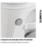 TOILETTE PORTABLE DOMETIC 976