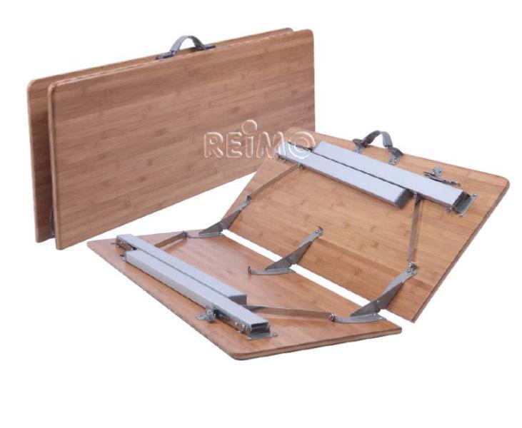table de camping pliante en bambou catania big 100 x 72 cm. Black Bedroom Furniture Sets. Home Design Ideas