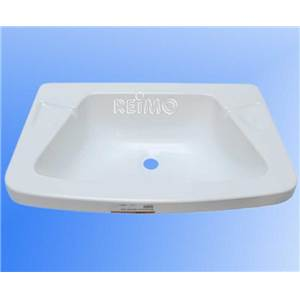 LAVABO ENCASTRABLE BLANC EN ABS 480 x 320 x 100 MM