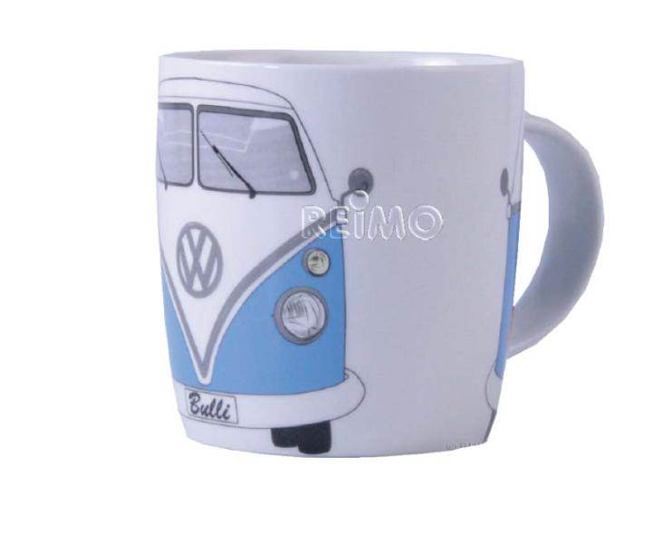 tasse mug vw collection decor bulli bleu. Black Bedroom Furniture Sets. Home Design Ideas