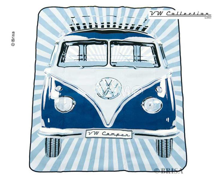 COUVERTURE DE PIQUE NIQUE BLEUE VW COLLECTION