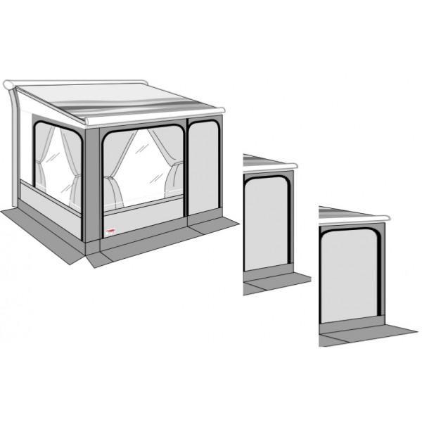 paroi frontale privacy room pour extension 80 cm. Black Bedroom Furniture Sets. Home Design Ideas