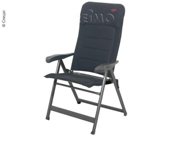 Chaise Pliante Matelass 3D Airdeluxe Tissu De CRESPO