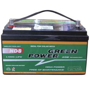 BATTERIE GREEN POWER AGM GP100T spéciale T5