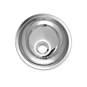 LAVABO ENCASTRABLE ROND EN INOX DIAM. 265 MM