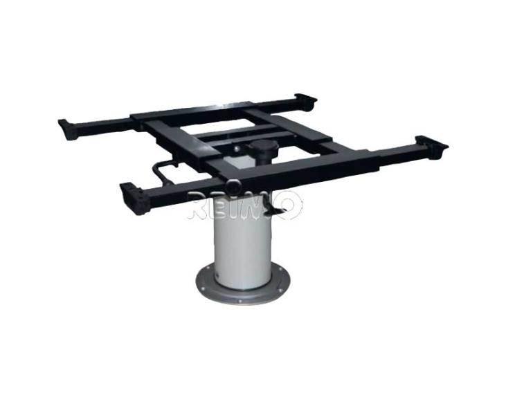 pied de table telescopique 355 730mm plateau coulissant. Black Bedroom Furniture Sets. Home Design Ideas