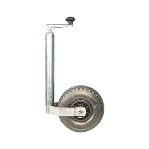 ROUE JOCKEY EN PNEUMATIQUE 260 X 85 MM diam 48mm