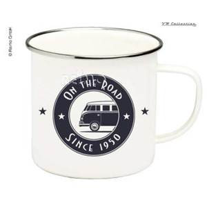 TASSE A CAFE EMAILLEE ON THE ROAD - VW COLLECTION