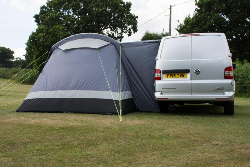 Auvent gonflable kampa travel pod touring air vw hauteur for Auvent gonflable kampa pour camping car