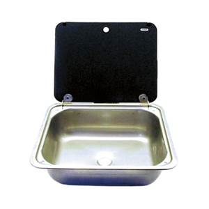 EVIER INOX AVEC COUVERCLE CRAMER 410X335mm