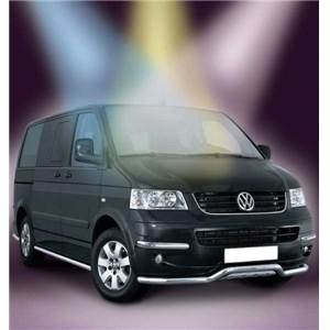 TUBE DE PROTECTION LATERAL VW T5 chassis court- ANTEC