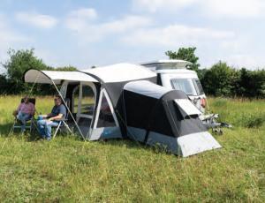annexe gonflable kampa pour auvent kampa pop air 260 pour eriba puck. Black Bedroom Furniture Sets. Home Design Ideas