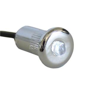 MINI SPOT LED encastrable15mm,0,2W, lumiere blanche