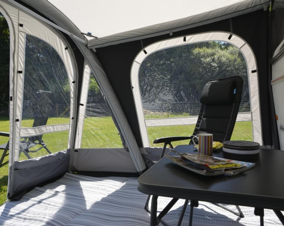 Auvent Gonflable Kampa Pop 340 Airpro Pour Caravanes Eriba