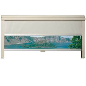 REMIFLAIR I - CASSETTE DOUBLE STORE creme - 1600x700MM