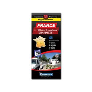 Carte FRANCE des aires et Parkings GRATUITS - TRAILER'S PARK