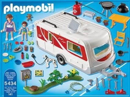Playmobil caravane familiale - Playmobil 3230 casa de vacaciones ...