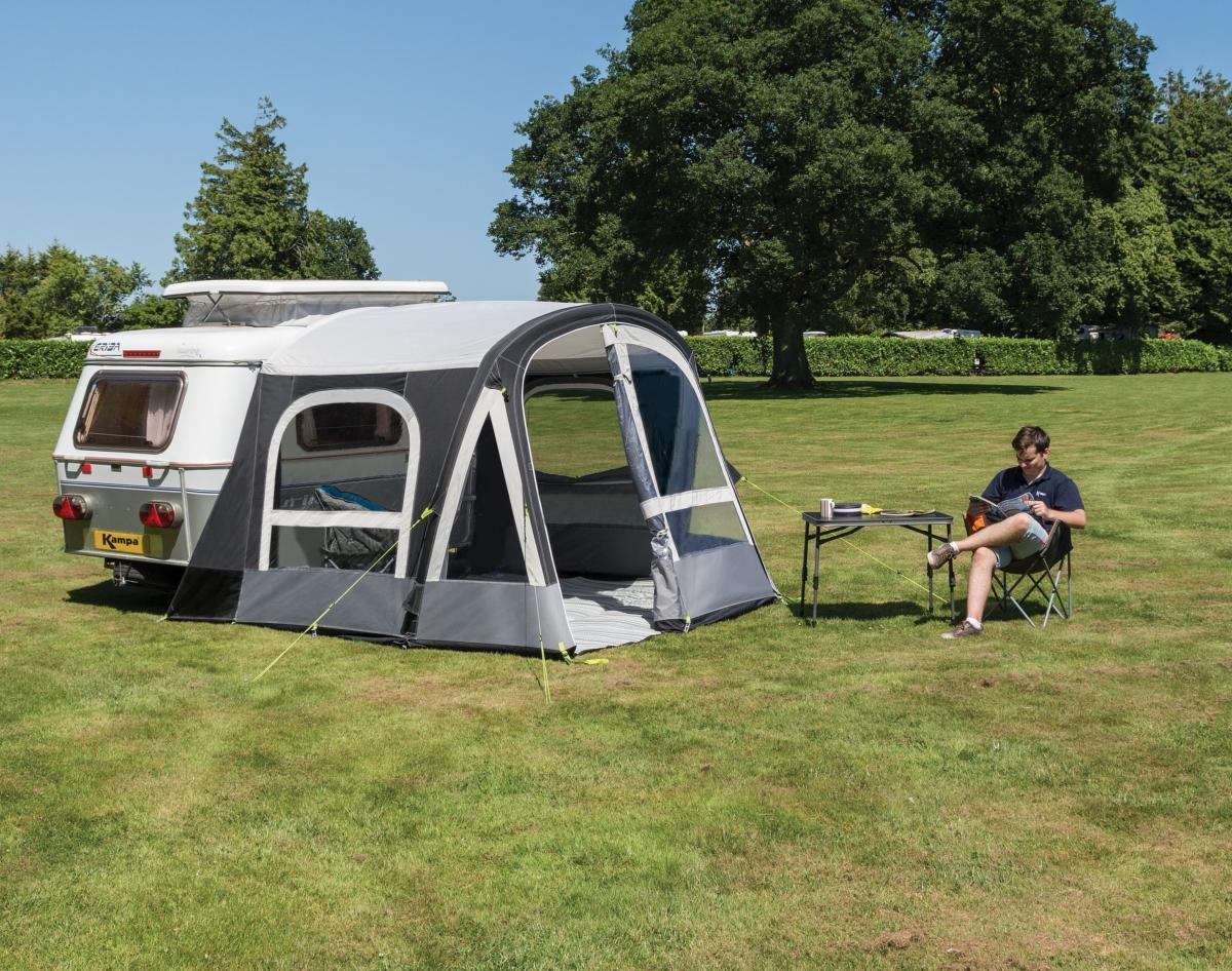 auvent gonflable kampa pop air 260 pro pour caravanes eriba puck mod le 2019. Black Bedroom Furniture Sets. Home Design Ideas