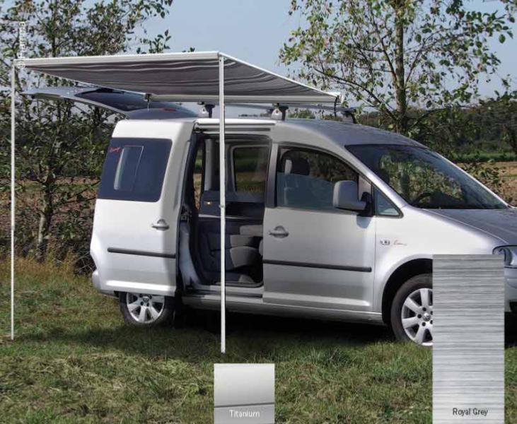 Store Fiamma F35pro Special Van 220cm Toile Royal Grey