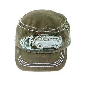CASQUETTE MILITAIRE VERTE VW Collection - SURF THE STREET
