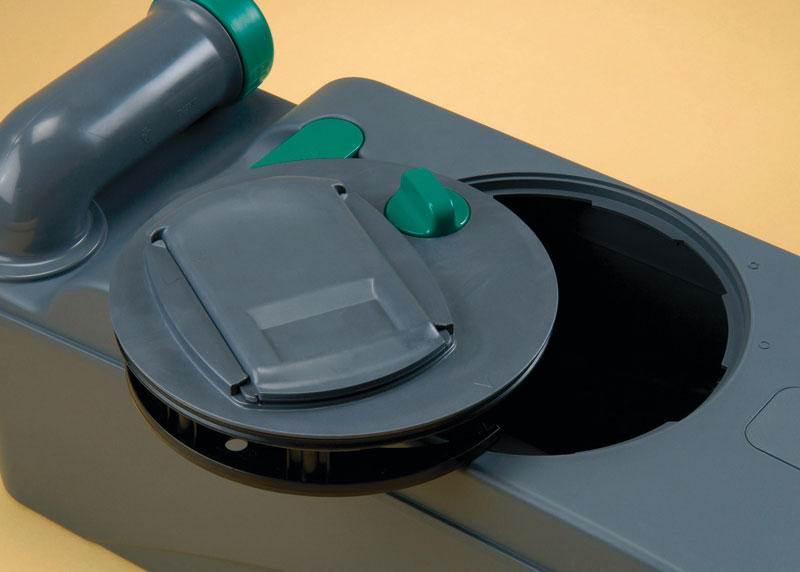 Toilette encastre thetford c403 l electrique cassette a for 66125 3