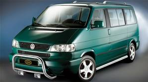 PUSHBAR INOX CHROMÉ VW T4-NEZ COURT(1996-2003)