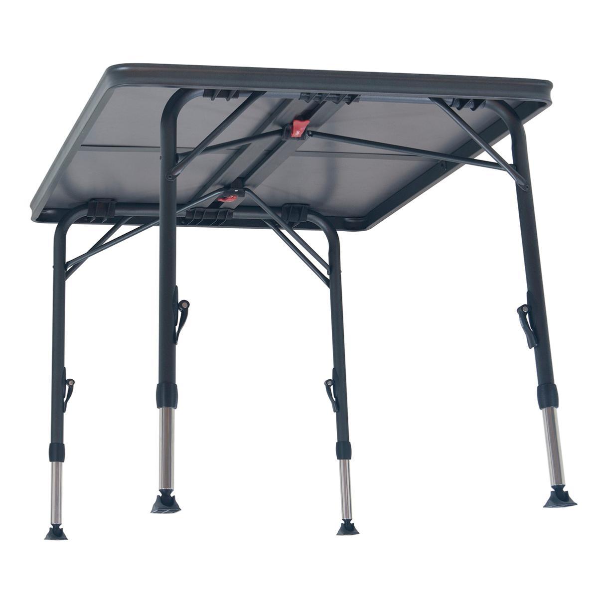 TABLE DE CAMPING LEGERE de CRESPO 120x85 CM