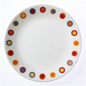 ASSIETTE RONDE 21CM CORELLE - HOT DOTS
