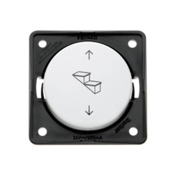 interrupteur pour marchepied berker integro anthracite. Black Bedroom Furniture Sets. Home Design Ideas