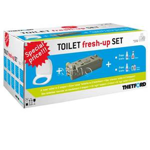 KIT RENOV' TOILETTES FRESH-UP THETFORD C400