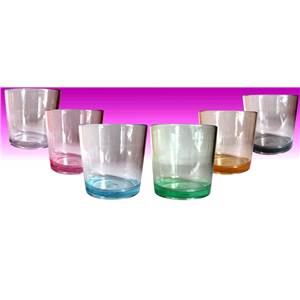 PACK 6 GOBELETS 25CL COPOLYESTER COLORES PLASTOREX
