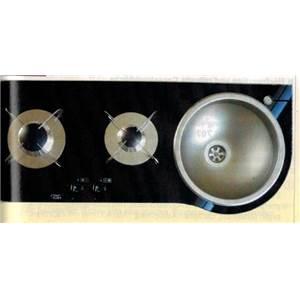 Plan de cuisson combine 2 feux evier - Evier plaque de cuisson integree ...