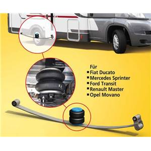 SUSPENSION PNEUMATIQUE FORD TRANSIT DPS 2006-PROPULSION/DOUBLE ESSIEU