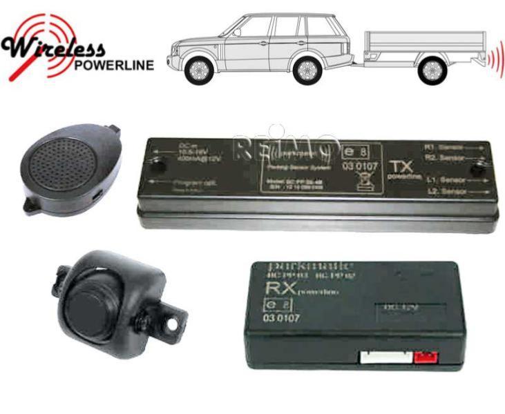 radar de recul sonore pour remorque ou caravaneavec 2 capteurs. Black Bedroom Furniture Sets. Home Design Ideas