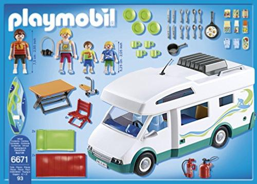 Playmobil camping car familial for Autocaravana playmobil