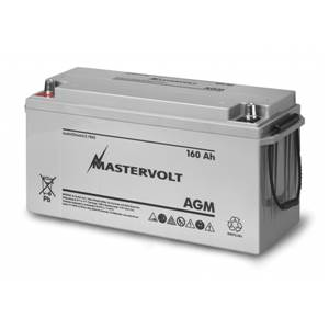 BATTERIE AGM 160Ah MASTERVOLT 485x170x242mm