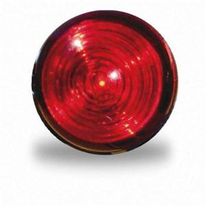 FEU DE POSITION A LED ROUGE - diamètre 30mm - JOKON - 9/33V
