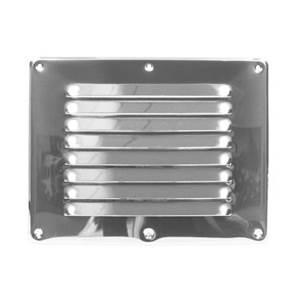 Grille ventilation alu 265x205 mm - Grille de ventilation aluminium ...