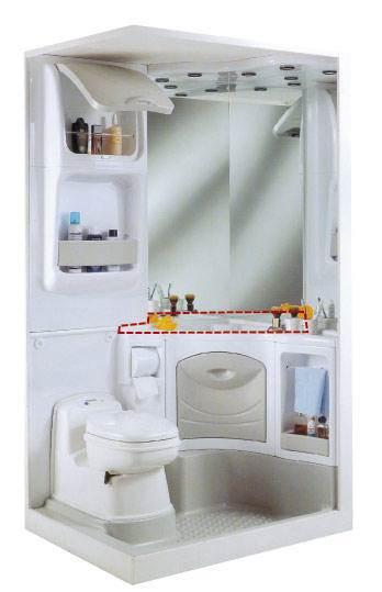 lavabo d 39 angle pour bloc sanitaire 2000. Black Bedroom Furniture Sets. Home Design Ideas