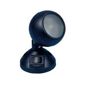 mini spot 12v 10w avec interrupteur noir. Black Bedroom Furniture Sets. Home Design Ideas