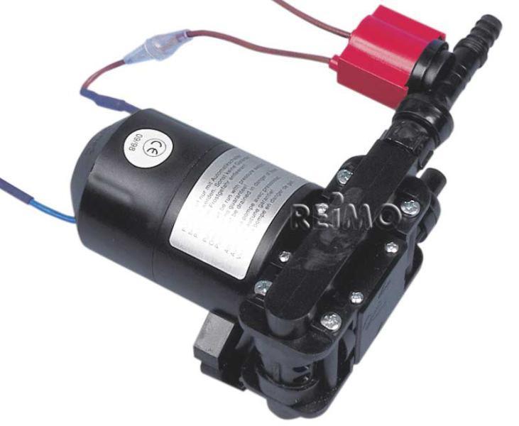 cf26a8e2f29b7f Pompe à eau 12 volts courant continu. - Pompe à double membrane visant  l approvisionnement de plusieurs robinets. - Garantie de pression double.
