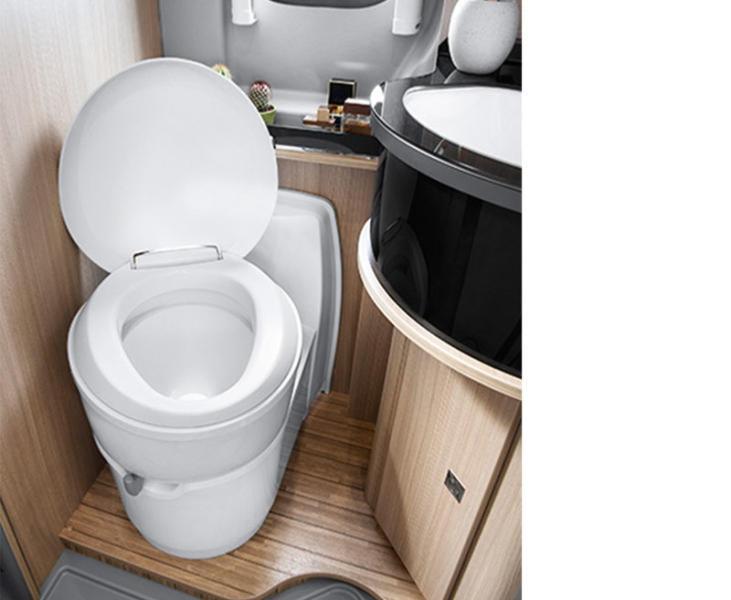 toilette encastre a cassette thetford c223 cs electrique. Black Bedroom Furniture Sets. Home Design Ideas