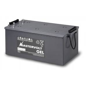 BATTERIE GEL 200Ah MASTERVOLT 475x265x216mm