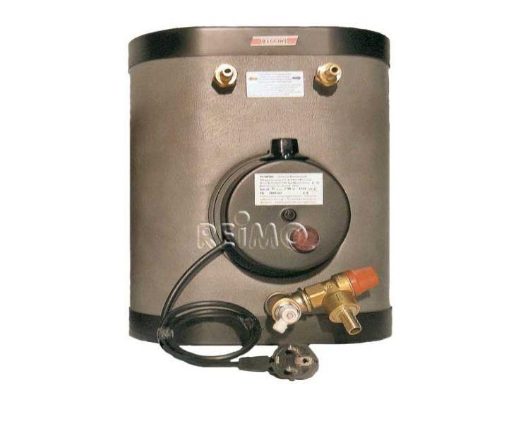 Chauffe eau inox nautic therm s type e 15 litres 230v 660w for Chauffe eau cuve inox