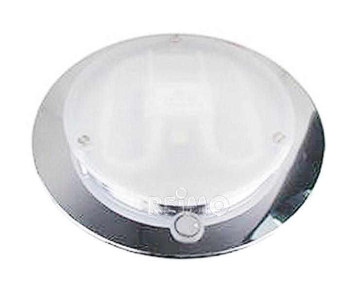plafonnier halogene chrome 16w 12v x h48 mm. Black Bedroom Furniture Sets. Home Design Ideas